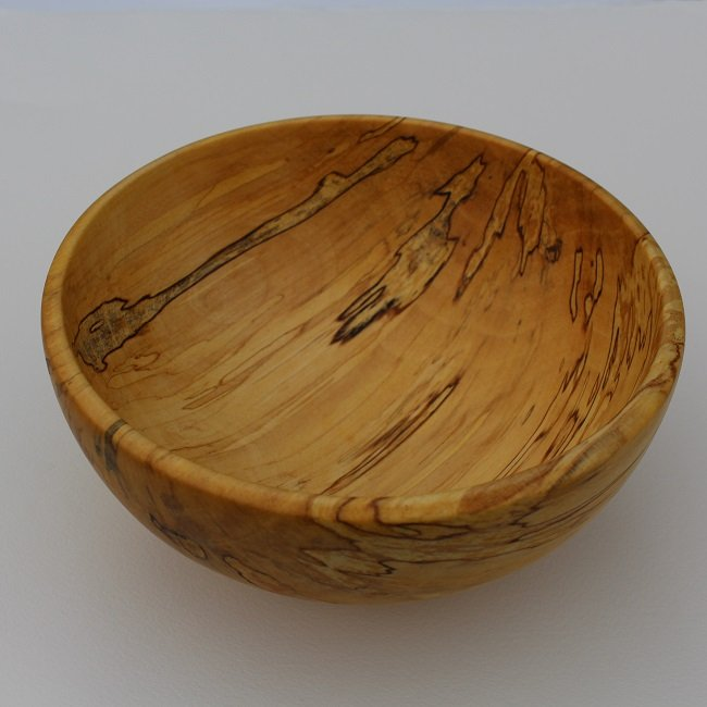Bowl made of birch wood